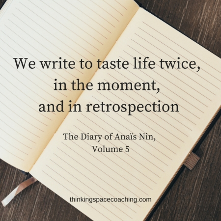 we write to taste life twice The Diary of Anaïs Nin, Vol. 5
